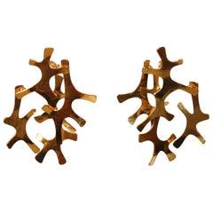 Herve Van Der Straeten Collectible Earrings