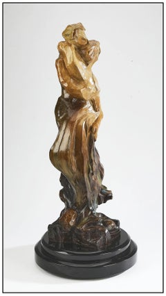 Hessam Abrishami Bronze Sculpture Inseparable Signed Female Male Figurative Art