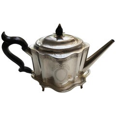 Hester Bateman George III Teapot and Stand