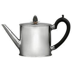 Hester Bateman Georgian Silver Teapot