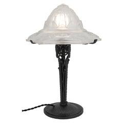 Hettier-Vincent French Art Deco Table Lamp, circa 1925