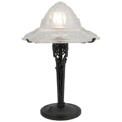 Hettier-Vincent French Art Deco Table Lamp, circa 1925