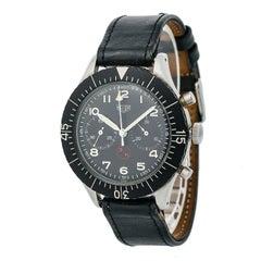 Heuer Bundeswehr 6645/12/146/3774 Men's Hand Winding Vintage Watch