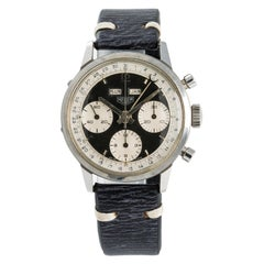 Heuer, Black Dial Certified Authentic
