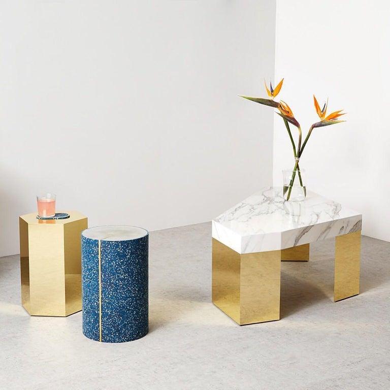 Modern Hex Side Table, Arielle Lichten