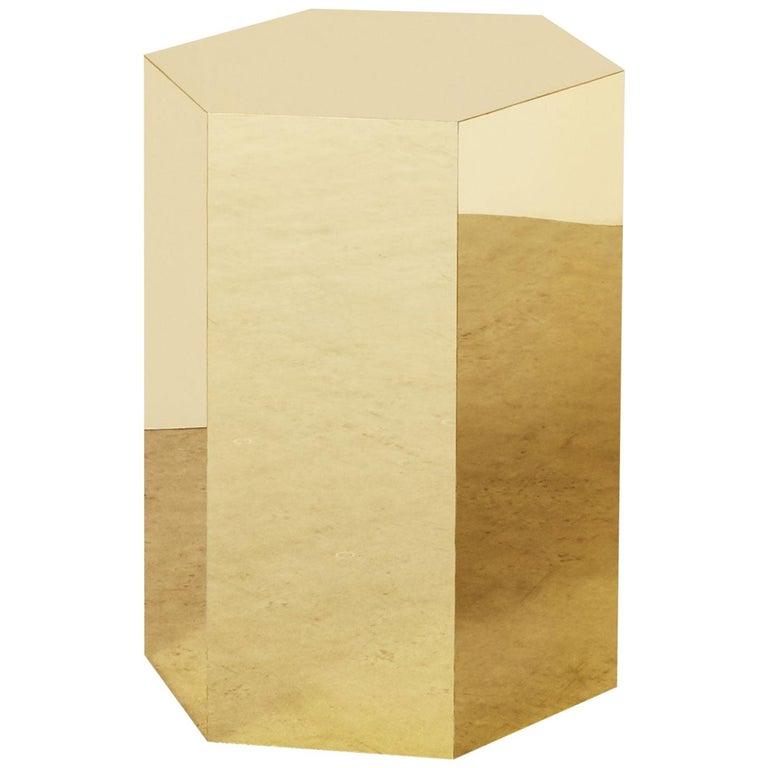 Hex Side Table, Arielle Lichten