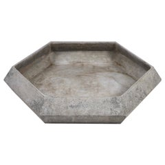 Hexagon Shaped Concrete Planter by Willy Guhl for Eternit, Switzerland, 1960s