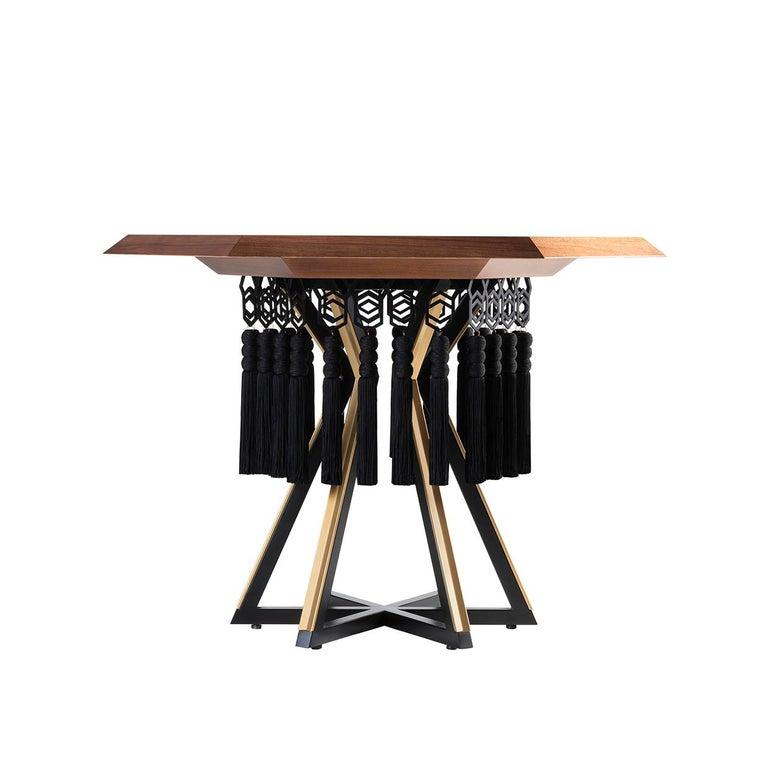 Italian Hexagon Table For Sale