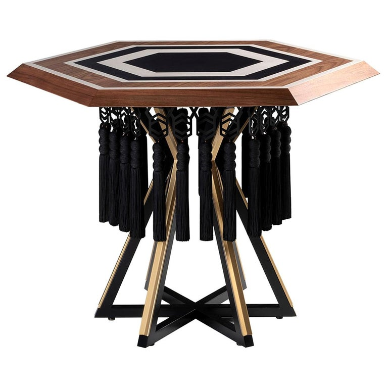 Hexagon Table For Sale