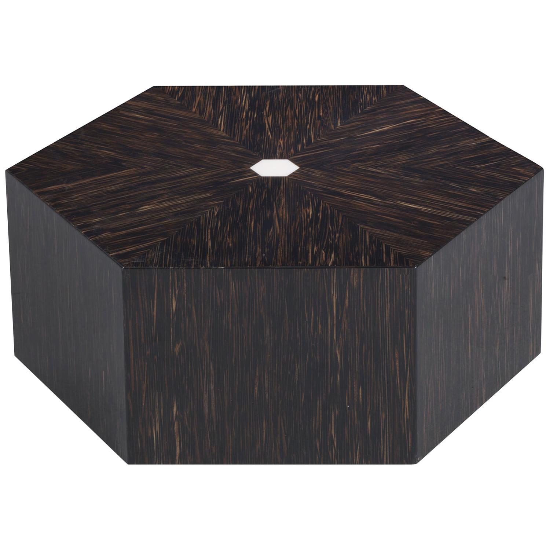 Hexagonal Low Coffee Table