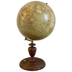 Heymann Terrestrial Globe with Compass, Berlin, circa 1885