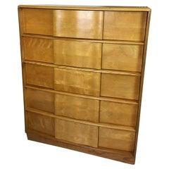 Heywood Wakefield 5-Drawer Sculptura Dresser