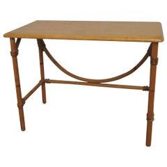 Heywood Wakefield Bamboo Rectangular Side Table