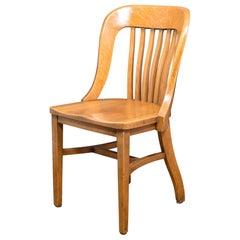 Heywood-Wakefield Desk/Library Chair, circa 1930-1950