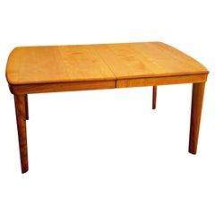 Heywood Wakefield Dining Table, One Leaf