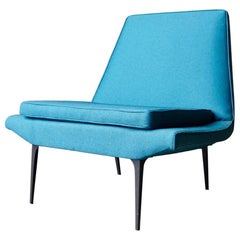 Heywood Wakefield 'Metronome' Chair in Blue