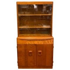 Heywood Wakefield Mid-Century Modern Breakfront Cabinet