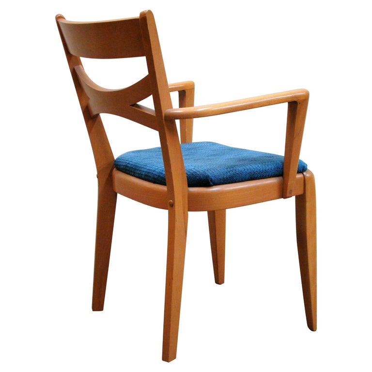 Remarkable Heywood Wakefield Mid Century Modern Dining Chair Ncnpc Chair Design For Home Ncnpcorg