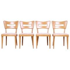 "Heywood Wakefield Mid-Century Modern ""Dog Bone"" Dining Chairs, Set of Four"