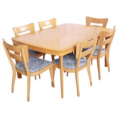 "Heywood Wakefield Mid-Century Modern ""Dog Bone"" Dining Set, 1950s"