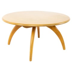 Heywood Wakefield Midcentury Round Coffee Table