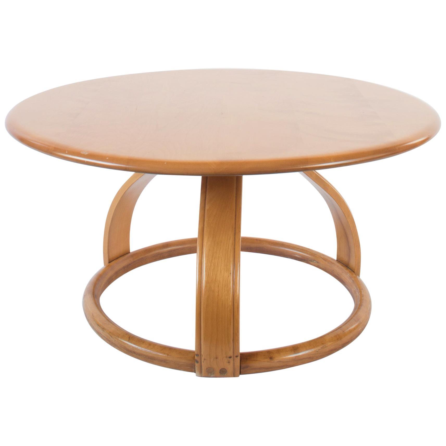 Heywood Wakefield Round Low Table