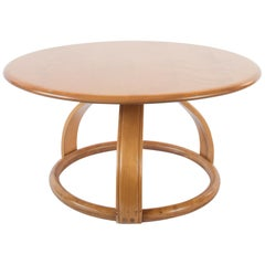 Heywood Wakefield Round Low Table
