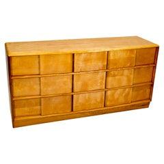 Heywood Wakefield Sculptura 9 Drawer Dresser