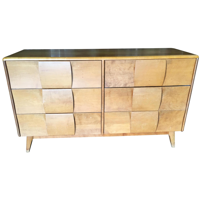 """Heywood-Wakefield """"Kohinoor"""" Extra Wide 6-Drawer Dresser"""