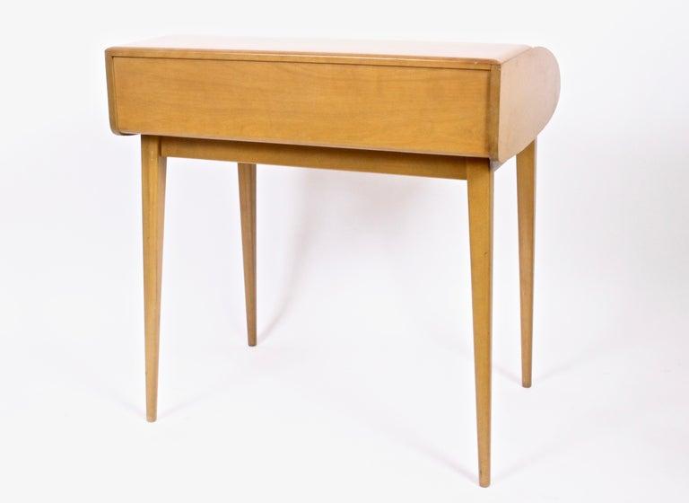 American Heywood-Wakefield Streamlined Tambour Desk, 1960s