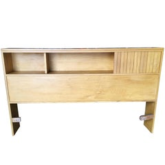 Heywood Wakefield Style Queen-Size Bookcase Headboard