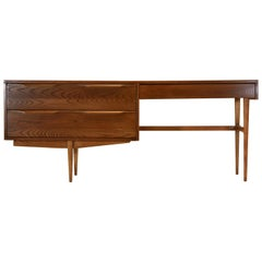 Heywood Wakefield Teak and Oak Vanity or Desk