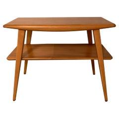 Heywood Wakefield Tiered Side Table