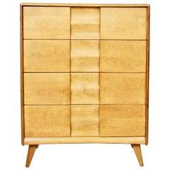 "Heywood Wakefield ""Trophy"" Maple Four Drawer Dresser"