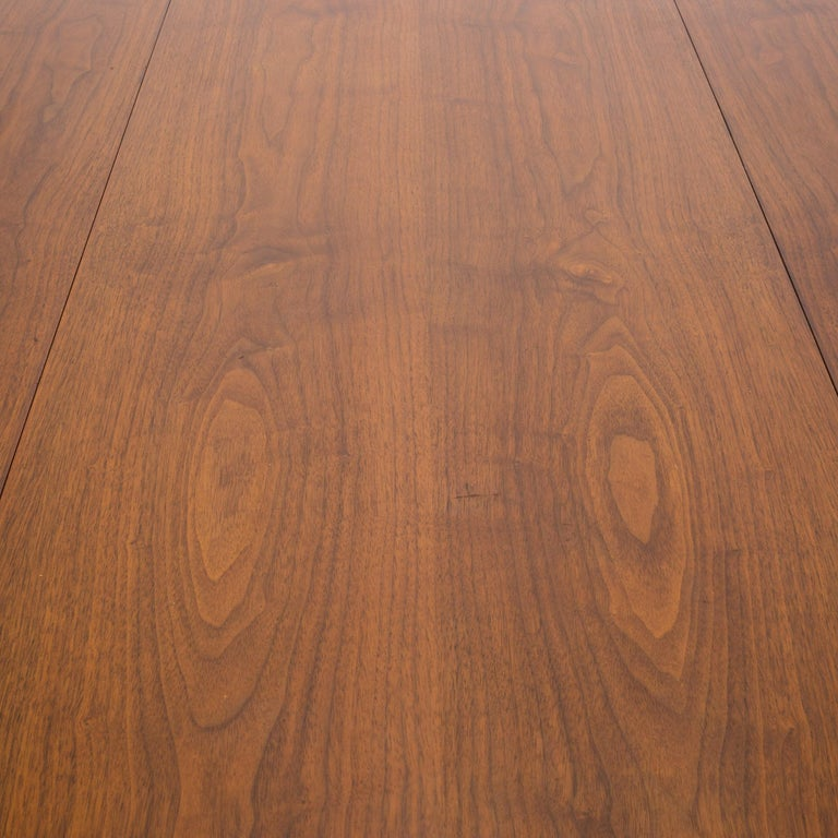 Hibriten Walnut Mahogany Rosewood Drop Leaf Dining Table