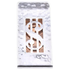 Hickok Sterling Silver $ Money Clip