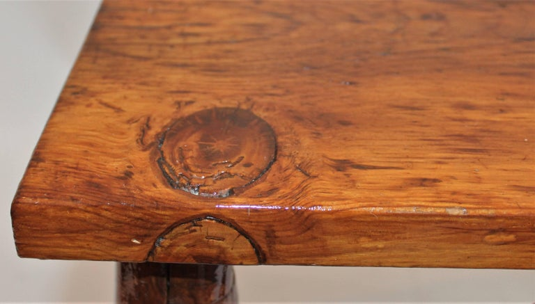 Mid-20th Century Hickory Bench or Table For Sale
