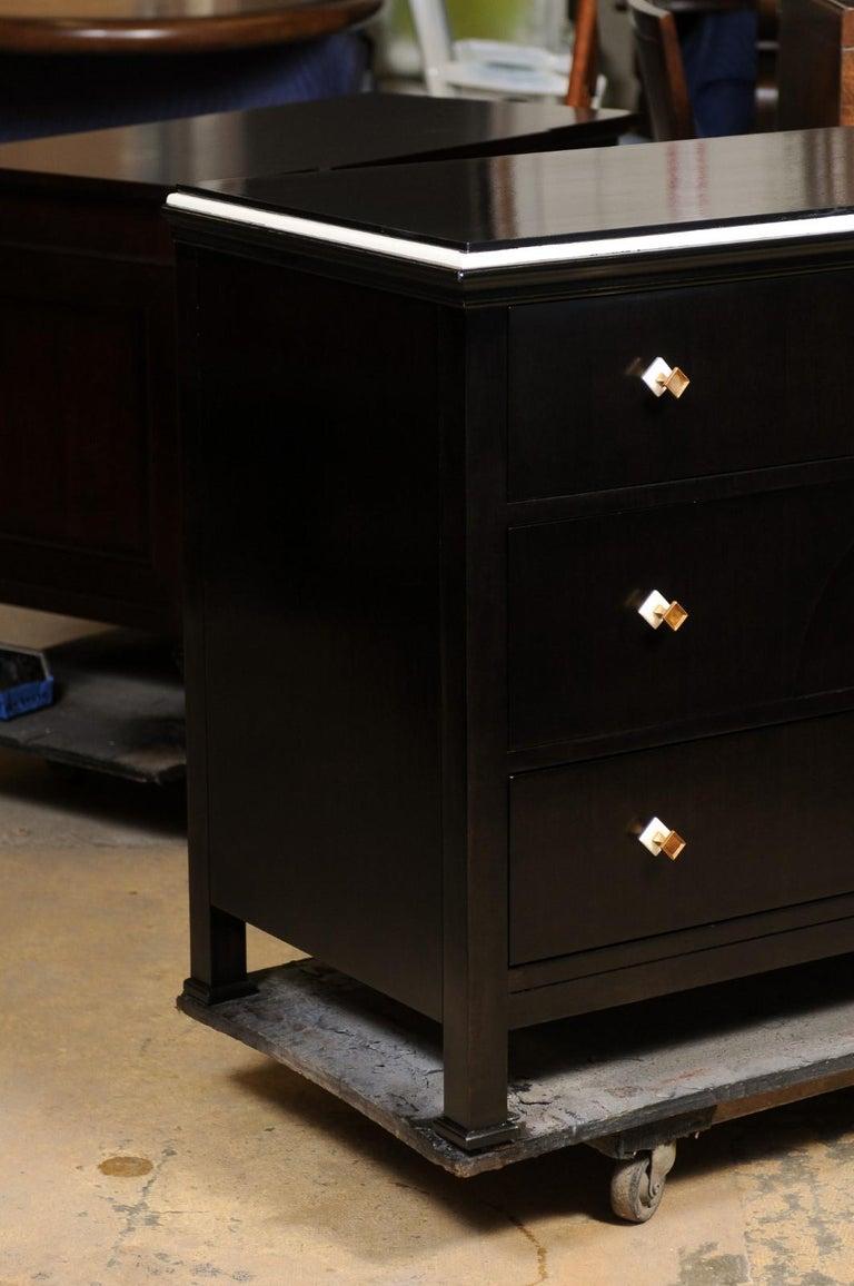 Ebonized Hickory Chair Bridgewater Chest, Suzanne Kasler