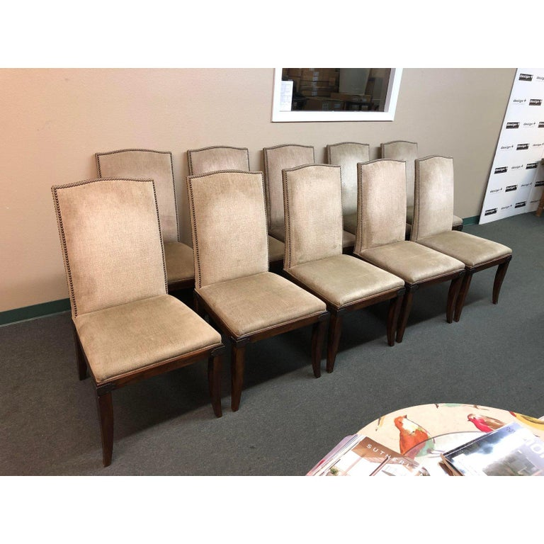 Hickory Chair Company Chelsea Dining Chairs Set of Ten For ...