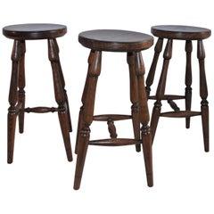 Hickory Furniture Company Bar Stools, 3