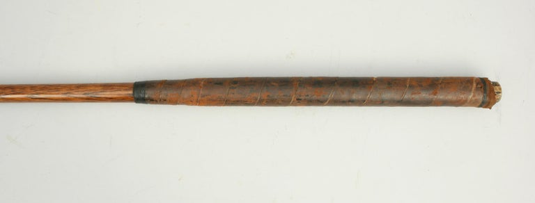 Early 20th Century Hickory Shafted Golf Club For Sale