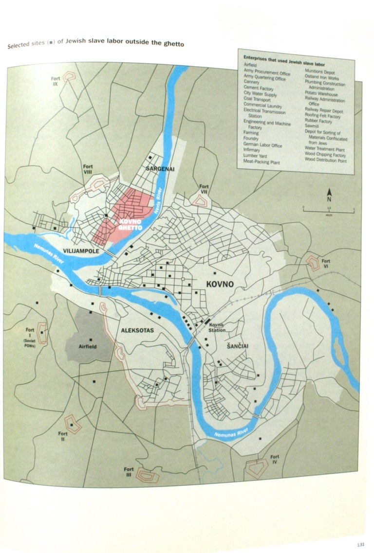 American Hidden History of the Kovno Ghetto For Sale