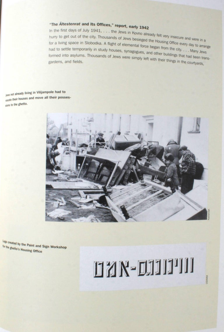 Hidden History of the Kovno Ghetto For Sale 1