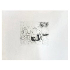 Hideo Hagiwara Signed Japanese Woodblock Print