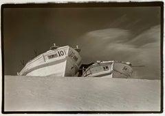 Boats 10, Hokkaido, Japan, 1977, Silver Gelatin