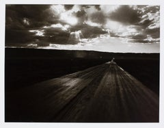 Hideoki, Black & White Photography, American Flag, Route 66, 2003