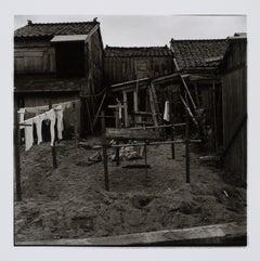 Hideoki, Black & White Photography, Fishing Village, Japan, 1960