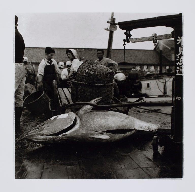 Hideoki Hagiwara Black and White Photograph - Hideoki, Black & White Photography, Fishing Village, Japan, 1960