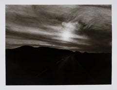 Hideoki, Black & White Photography, Stretched Road, Route 66, 2003