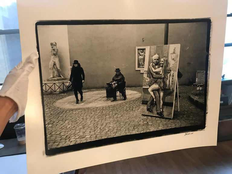 Hideoki, Black & White Photography, Untitled, Italy, 1994 For Sale 1